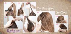 Easy Elegant Hairdo
