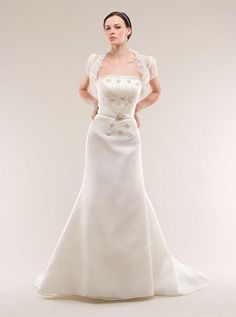New Kirsite Kelly Wedding Dress Dupioni Taffeta wedding bridal gown Classic Collection Pinterest Gowns Dresses and Bridal gowns