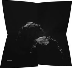 The Rosetta spacecraft's Philae lander has touched down on the surface of Comet