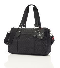 Babymel Ella Bag - Quilted Black