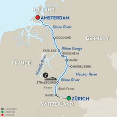"""""""Cruise with Doug & Kathy-One of Europe's most legendary rivers awaits on this mesmerizing journey along the Rhine"""""""