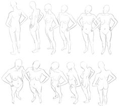 TUTO - female reference pose by ~the-evil-legacy on deviantART ✤ || CHARACTER DESIGN REFERENCES | 解剖 •  علم التشريح • анатомия • 解剖学 • anatómia • एनाटॉमी • ανατομία • 해부 • Find more at https://www.facebook.com/CharacterDesignReferences & http://www.pinterest.com/characterdesigh if you're looking for: #anatomy #anatomie #anatomia #anatomía #anatomya #anatomija #anatoomia #anatomi #anatomija || ✤