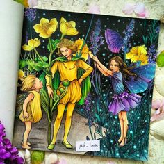 "355 Likes, 38 Comments - Poh Imm (@poh_imm) on Instagram: ""Done!  #theflowerfairies #flowerfairies #Cicelymarybarker #cicelybarker…"""