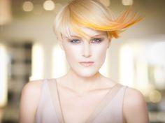 mizu new york A/W 2012-13 Fashion Hair Trend Collection. Yellow hair