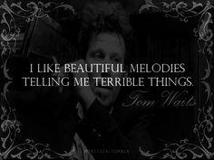 beautiful melodies telling me terrible things