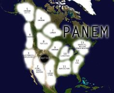 Panem-so I guess where I live now is either the Capitol or district 2....