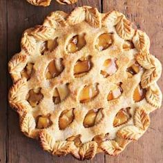 Leaf apple pie