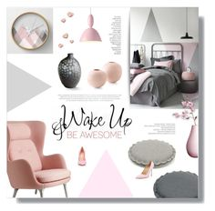 """""""Untitled #823"""" by valentina1 ❤ liked on Polyvore featuring interior, interiors, interior design, thuis, home decor, interior decorating, Fritz Hansen, Hey Sign, Muuto en By Terry"""