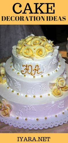 Cake decorating ideas, cake decoration ideas, edible gold cake decorating ideas, best cake decorating ideas for weddings, desserts, parties and more #cake #wedding #love #diy #party #halloween #recipe #food Wedding Cake Rustic, Cool Wedding Cakes, Elegant Wedding Cakes, Gold Leaf Cakes, Gold Cake, Birthday Cake Decorating, Cookie Decorating, Decorating Ideas, Edible Gold Leaf Sheets