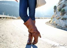 slouchy boots for fall