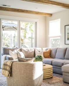 Look on the bright side! Let in all that natural light to create an indoor/outdoor living space with panoramic doors and light-filtering roller shades in those west-facing windows to block out that harsh afternoon sunlight. Get ideal light-filtering capabilities and UV protection today! Woven Wood Shades, Bamboo Shades, Sheer Shades, Budget Blinds, Custom Shades, Roller Shades, Indoor Outdoor Living, Living Spaces, Bright