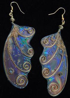 Fairy Wing Earrings by SeelieCourt on Etsy, $18.00
