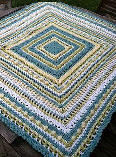 Crochet - Fairy Blanket Sampler - Free pattern - Downloaded