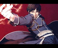 Fullmetal Alchemist, Roy Mustang Roy Mustang, 鋼の錬金術師 Fullmetal Alchemist, Alphonse Elric, Ghost In The Shell, Creative Pictures, I Love Anime, Cool Artwork, Anime Characters, Animation