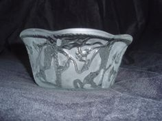 Frosted Cut Glass Bowl by FELVERSFEVER on Etsy, $5.99