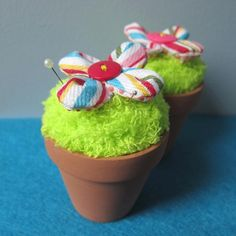 Free Pincushion Patterns   Other Ideas   Project on Craftsy: Flower Pot Pincushion