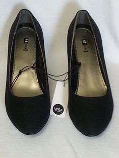 schwarze Damen Pumps / Schuhe