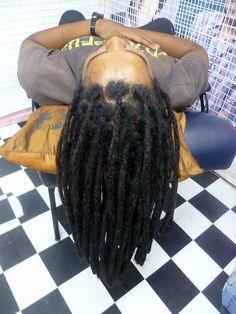 DREADLOCK HUMAN REAL HAIR EXTENSION