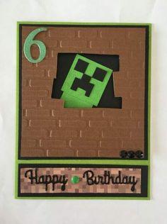 Ideas birthday card for boys minecraft for 2019 – Birthday Presents Minecraft Cards, Minecraft Birthday Card, Free Birthday Card, Cool Birthday Cards, Handmade Birthday Cards, Birthday Wishes, Handmade Cards, Birthday Presents For Boys, Birthday Present For Boyfriend