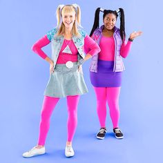 Zoom, zoom, zoom, make your heart go boom, boom with this Disney Channel Original Movie Zenon: Girl of the 21st Century best friend Halloween costume.
