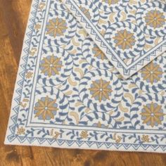 Could the Sevilla Rug be my new kitchen runner? The look of Mediterranean mosaic tiles without the price tag and the, eh hem, commitment.