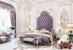 Luxury Royal Arabic Master Bedroom of Katrina Antonovich, Katrina Antonovich