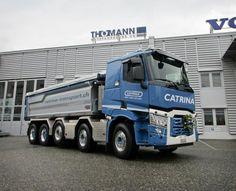 C 520 10x4 mit Rückwärtskipper, Renault Trucks C, 2016