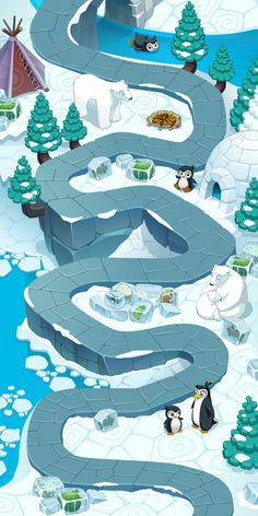 Arctic Map on Behance