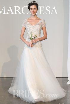 Marchesa Wedding Dresses Spring 2015 Bridal Runway Shows Brides.com | Wedding Dresses Style | Brides.com
