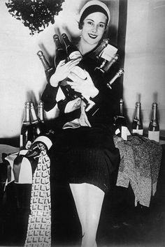 Vintage Photos of Ladies Drinking - New Year's Eve Drinking