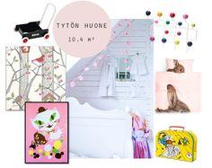 Valontalo: Ideas for little girls room