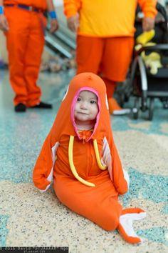 Baby magikarp cosplay! >W<