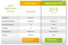 Jetzt schnell, einfach und vor allem kostenlos eine Mitgliederseite / Abosystem erstellen mit DigiMember für Ihr Online-Business...  #kostenlos #mitgliederseiteerstellen #onlinebusiness