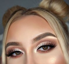 Eye Makeup Designs, Eye Makeup Art, Simple Eye Makeup, Cute Makeup, Pretty Makeup, Makeup Inspo, Eyeshadow Makeup, Natural Makeup, Makeup Inspiration