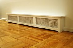 Would love to cover my baseboard heaters like this, doesn't look too difficult to make?