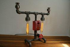 Vintage Industrial Fire Sprinkler Lamp