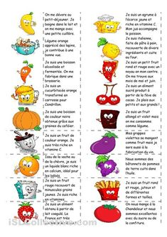 Food - domino game (with text) - Francais oral - Aliments French Language Lessons, French Language Learning, French Lessons, French Teaching Resources, Teaching French, How To Speak French, Learn French, French Worksheets, French Education