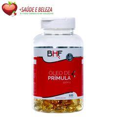 O Óleo de Prímula BHF é capaz de regular os hormônios femininos, auxiliando na TPM e menopausa. Ele é rico em ômega 6 e em ácidos graxos como o ácido gama linolênico (GLA), que não é produzido no nosso corpo, mas é essencial para o bom funcionamento do nosso organismo.   http://www.maissaudeebeleza.com.br/oleo-de-primula-bhf-500-mg-c120-capsulas?utm_source=pinterest&utm_medium=link&utm_campaign=Óleo+de+Prímula+BHF&utm_content=post