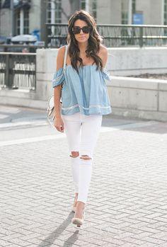Hombros al descubierto   Fashion Diaries   Blog de moda