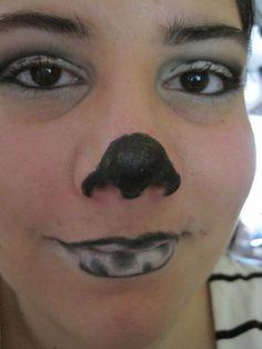 Dalmatiner Dies hatte ich zu Fasching gemacht, es soll einen Dalmatiner darstellen :) Portrait, Dalmatian, Make Up Eyes, Carnavals, Headshot Photography, Portrait Paintings, Drawings, Portraits