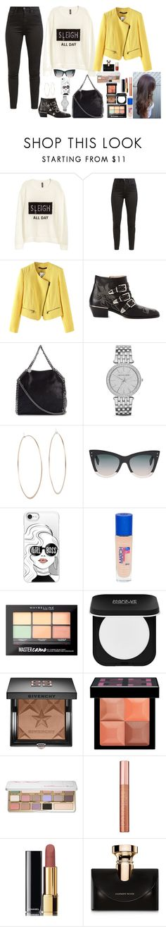 """""""Untitled #1198"""" by azra-99 ❤ liked on Polyvore featuring H&M, Levi's, Chloé, STELLA McCARTNEY, Michael Kors, Fendi, Casetify, Rimmel, Maybelline and MAKE UP FOR EVER"""