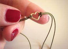 Armband Mit Herz-Anhänger | DIY LOVE