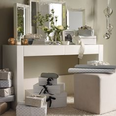 Langley Stool - Seating | The White Company