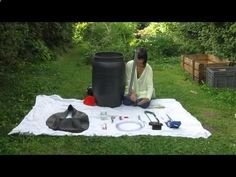 How to make biogas digester - YouTube