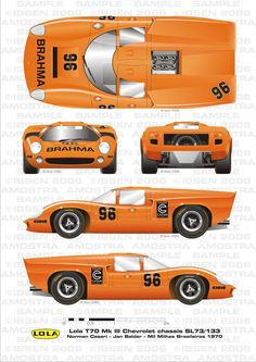 Lola MkIII Norman Casari by ibsenop on DeviantArt British Sports Cars, Classic Sports Cars, Classic Cars, Sports Car Racing, Sport Cars, F1 Racing, Gt Cars, Race Cars, Vintage Cars