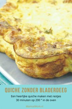 Quiche Lorraine, Frittata, Omelet, Tasty Dishes, Food And Drink, Pizza, Low Carb, Treats, Homemade