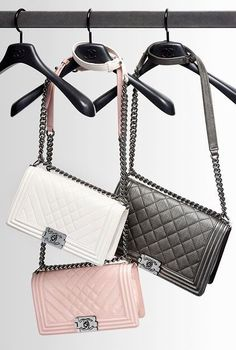 Chanel, a classic bag. A piece like this can tie a whole outfit together. Great for a day or night time wedding.