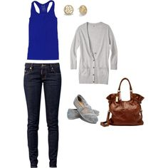 """""""casual sunday"""" by jenna-mooers on Polyvore"""