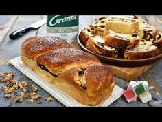 Moldavian sweet bread with scalded dough My Recipes, Bread Recipes, Cookie Recipes, Romanian Food, Pan Dulce, Sweet Bread, Biscotti, Food Videos, Good Food