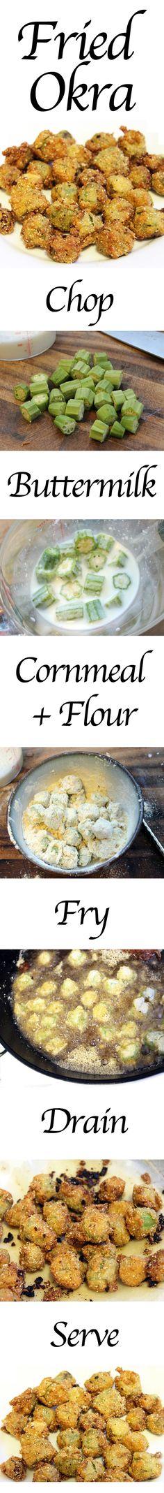 Perfect Fried Okra Recipe